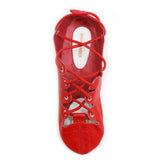 Red Highlander Highland Dance Shoes Top