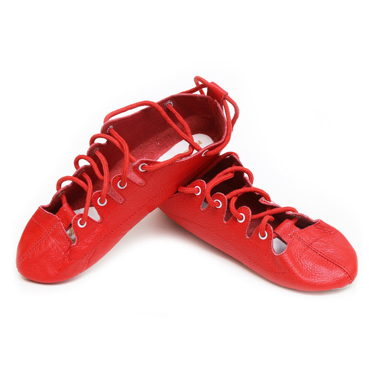 Red Highlander Highland Dance Shoes