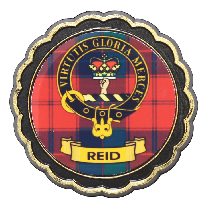 Clan Crest Fridge Magnet - Reid