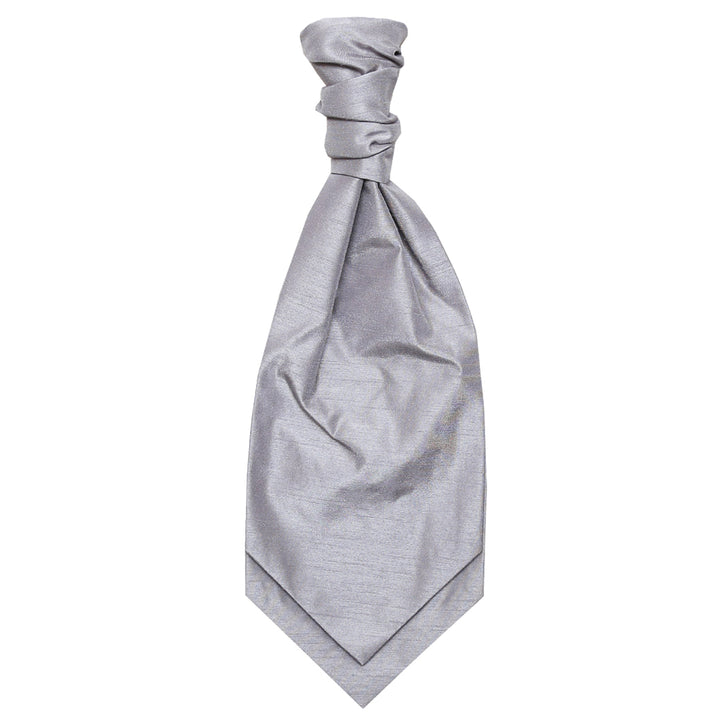 Ruched Tie - Silver