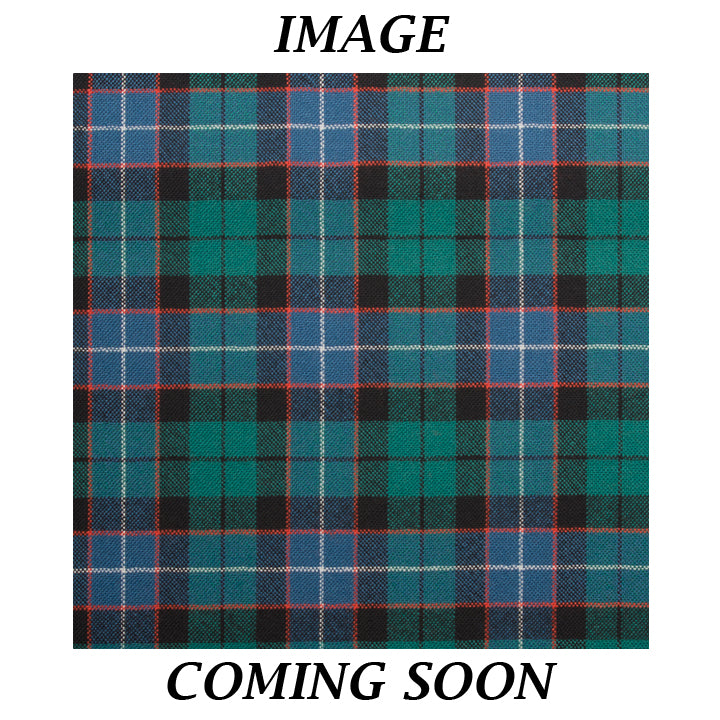 Fine Weight Tartan Scarf - Russell Ancient