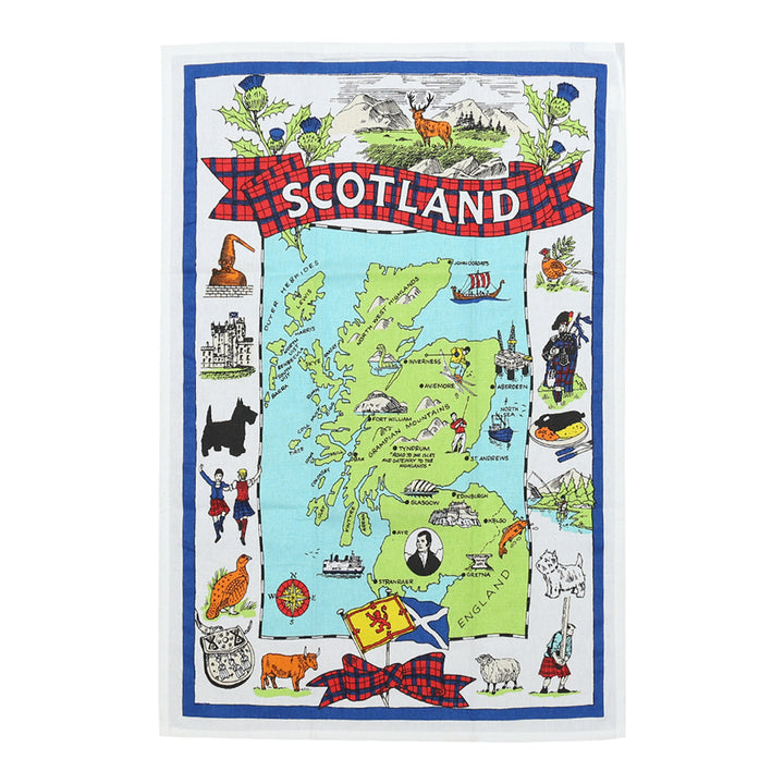 Scotland Tea Towel