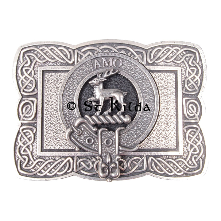 Clan Crest Belt Buckle - Scott