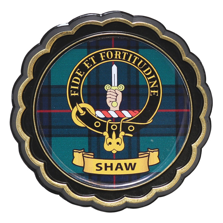 Clan Crest Fridge Magnet - Shaw