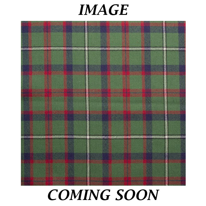 Fine Weight Tartan Scarf - Shaw Green Modern