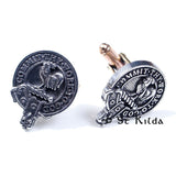 Clan Crest Cufflinks - Sinclair Back