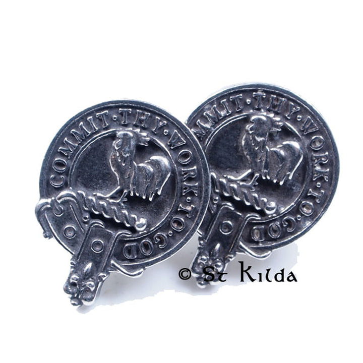 Clan Crest Cufflinks - Sinclair