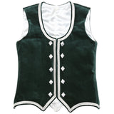 Size 36 Forest Green Highland Vest