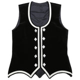 Size 40 Black Highland Vest