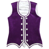 Size 40 Bright Purple Highland Vest