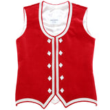 Size 40 Red Highland Vest