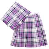 Size 6 Orchid Reverse McKellar Skirt and Plaid
