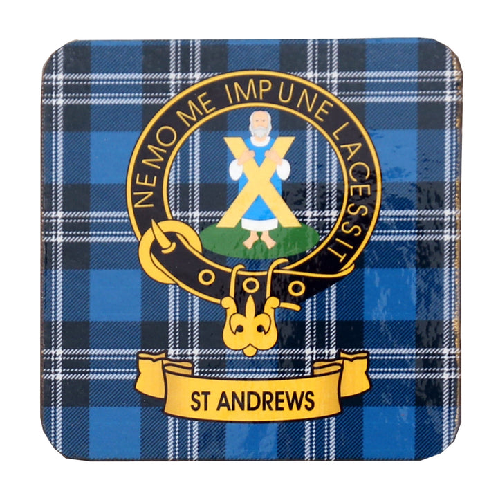 Clan Crest Drink Coaster - St. Andrews