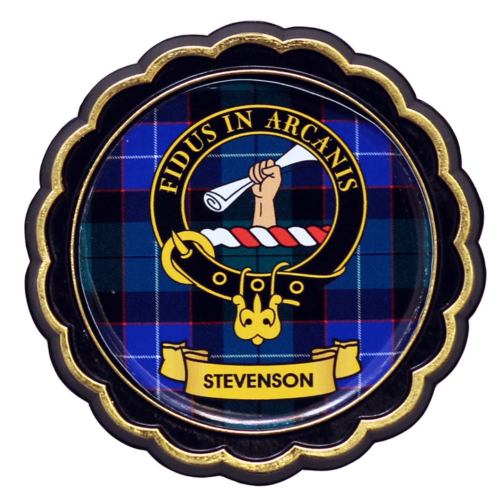 Clan Crest Fridge Magnet - Stevenson