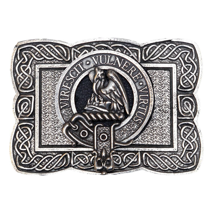 Clan Crest Belt Buckle - Stewart