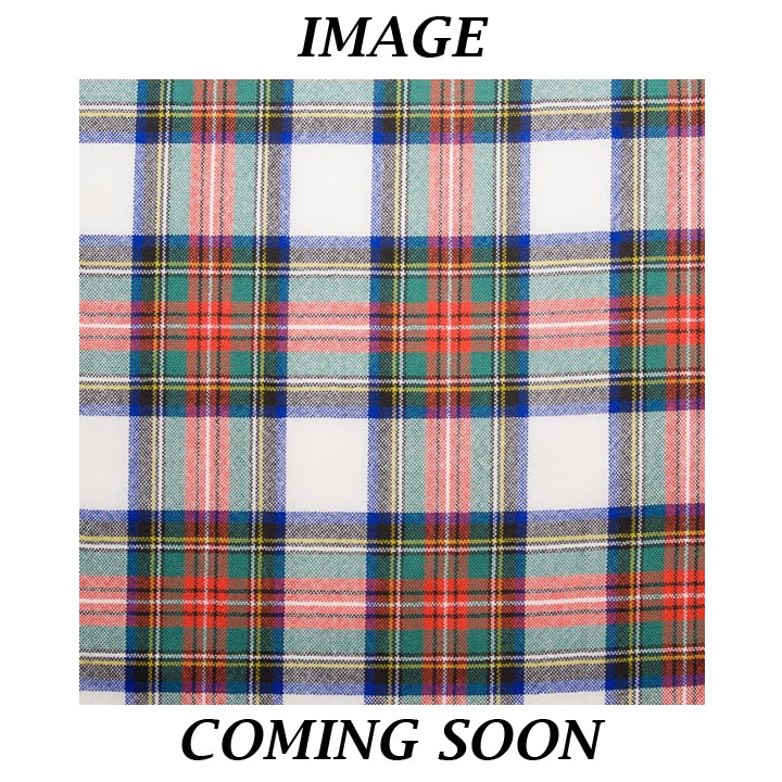 Fine Weight Tartan Scarf - Stewart Dress Ancient