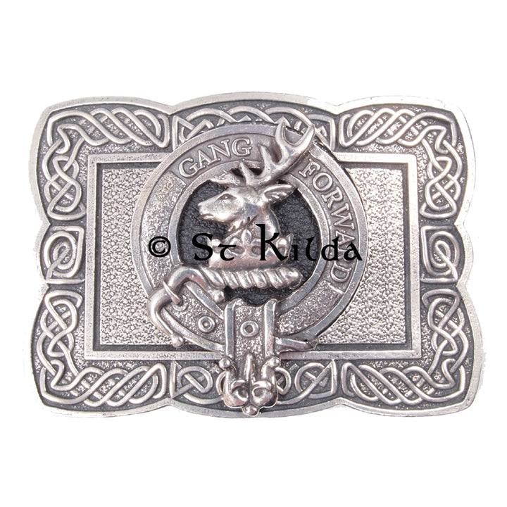Clan Crest Belt Buckle - Stirling