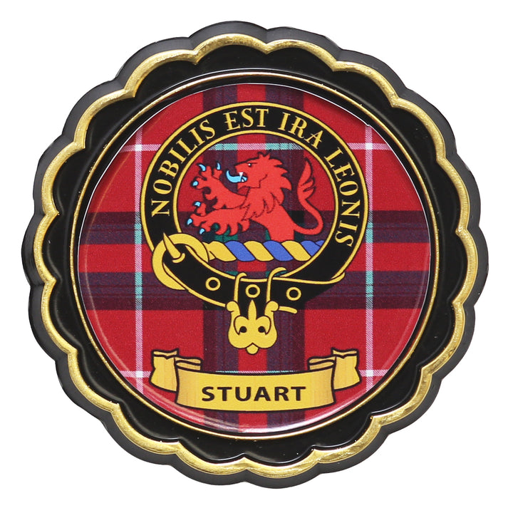 Clan Crest Fridge Magnet - Stuart