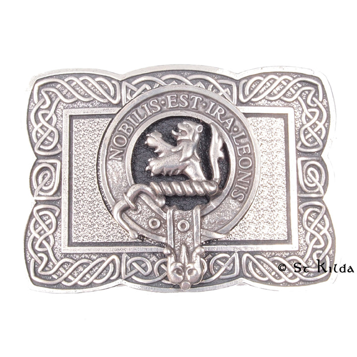 Clan Crest Belt Buckle - Stuart of Bute