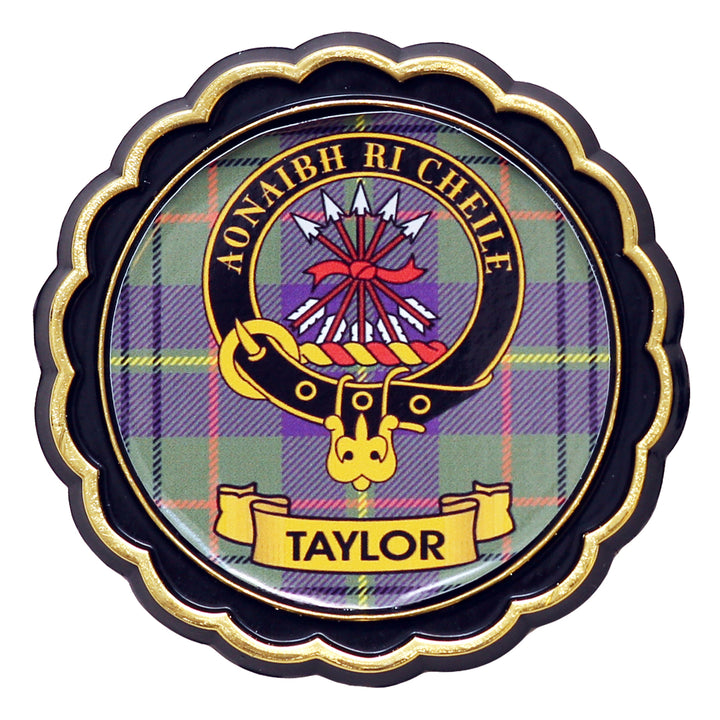 Clan Crest Fridge Magnet - Taylor