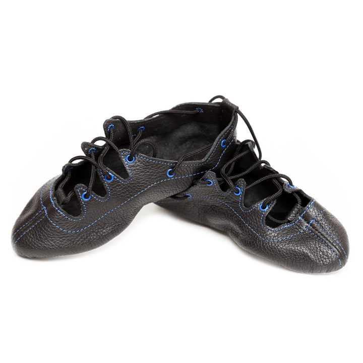 Thistle Blue Highland Dance Shoes