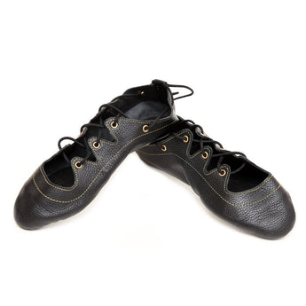 Thistle Gold Highland Dance Shoes