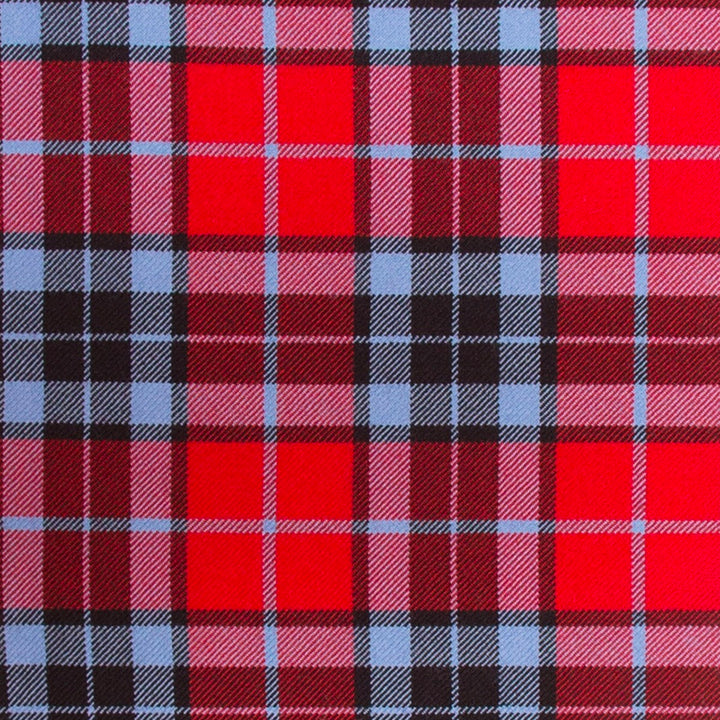 Thompson Red Modern Tartan