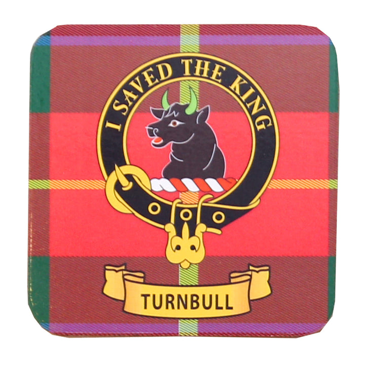 Clan Crest Drink Coaster - Turnbull