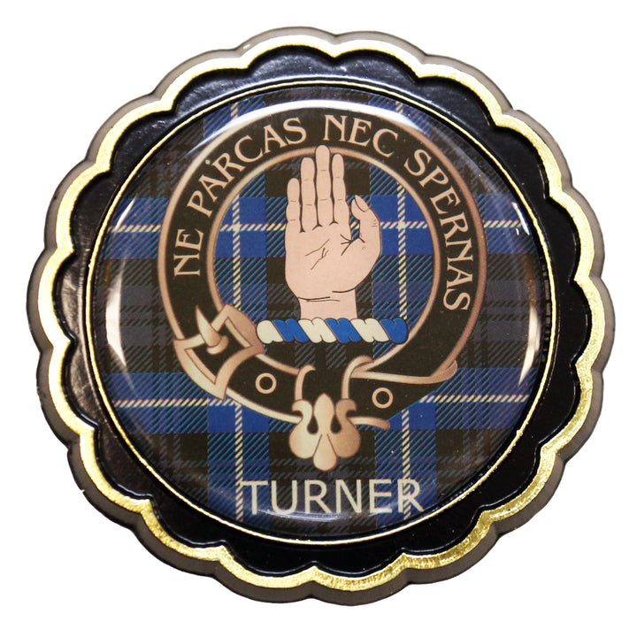 Clan Crest Fridge Magnet - Turner