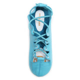 Turquoise Highlander Highland Dance Shoes Top