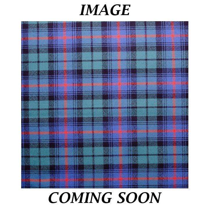 Fine Weight Tartan Scarf - Urquhart Broad Red Ancient