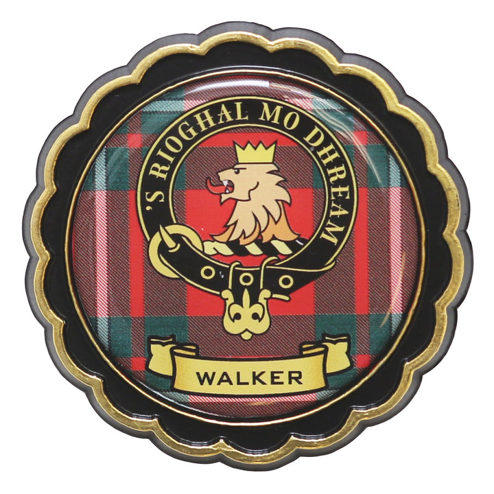 Clan Crest Fridge Magnet - Walker