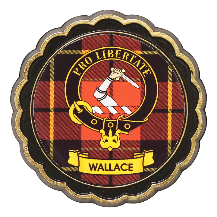Clan Crest Fridge Magnet - Wallace