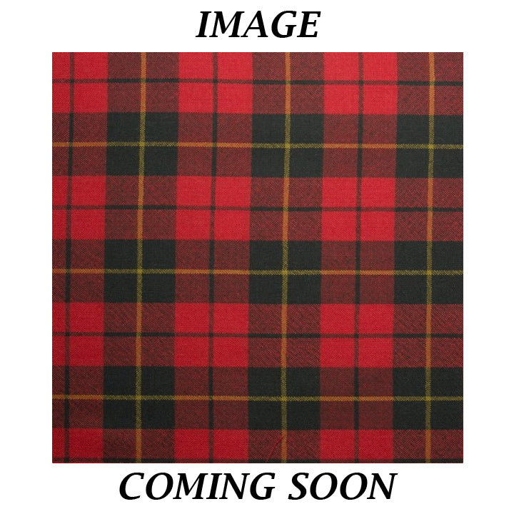 Fine Weight Tartan Scarf - Wallace Weathered