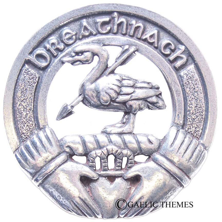 Clan Crest Cap Badge - Walsh