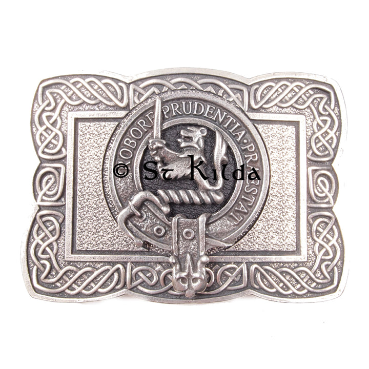 Clan Crest Belt Buckle - Young