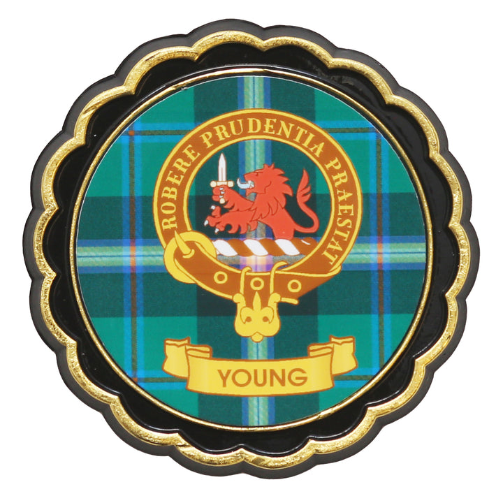 Clan Crest Fridge Magnet - Young