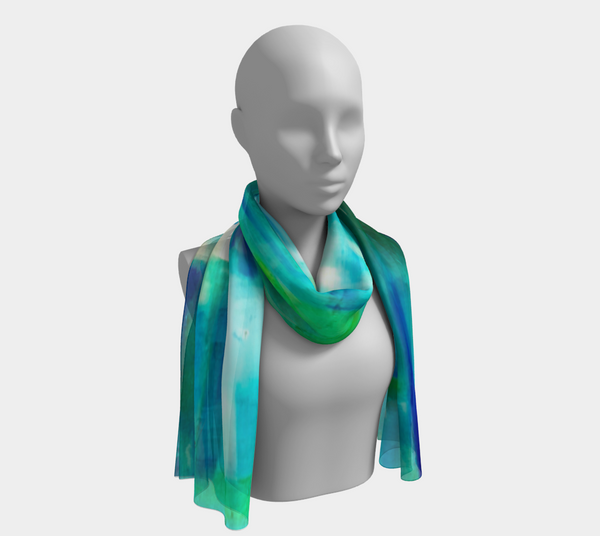 Blue Windows Scarf