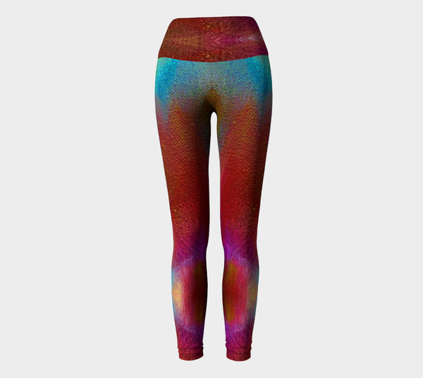 Colors on Canvas Yoga Leggings