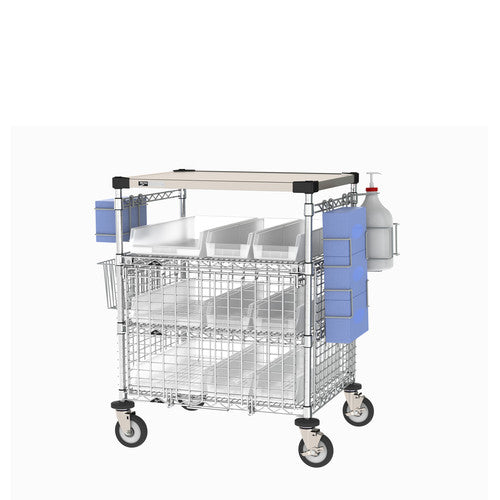 PPE Check In Cart