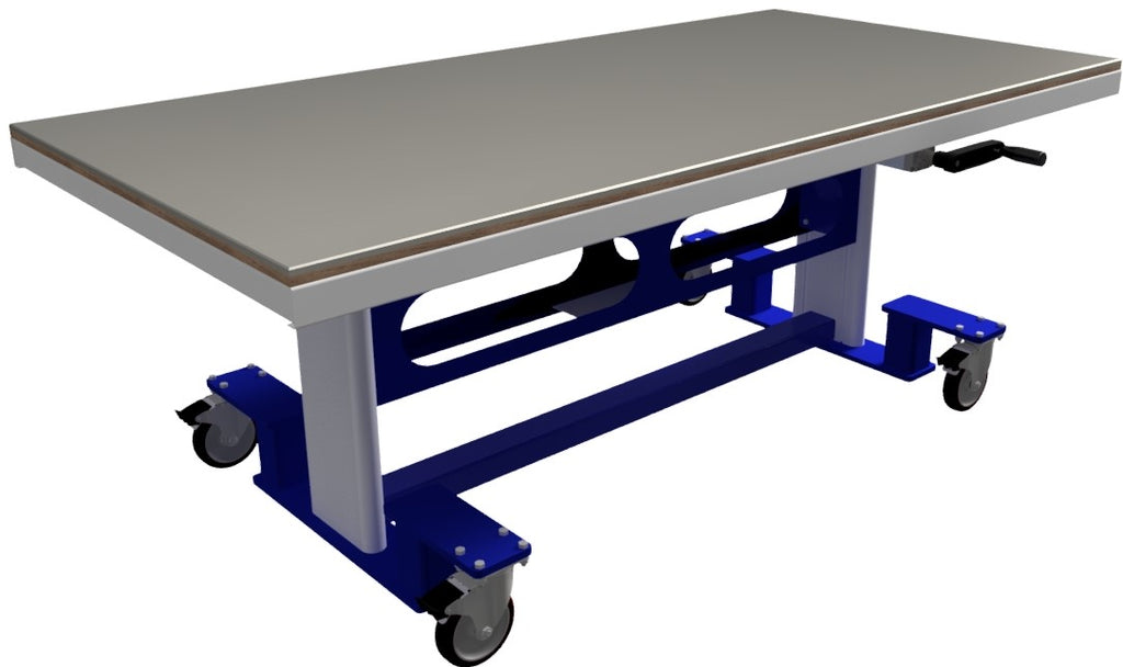 "Ergonomic Work Table , Ergonomic Work Bench , Elevation from 28""-36"" (Other Elevations Available)"