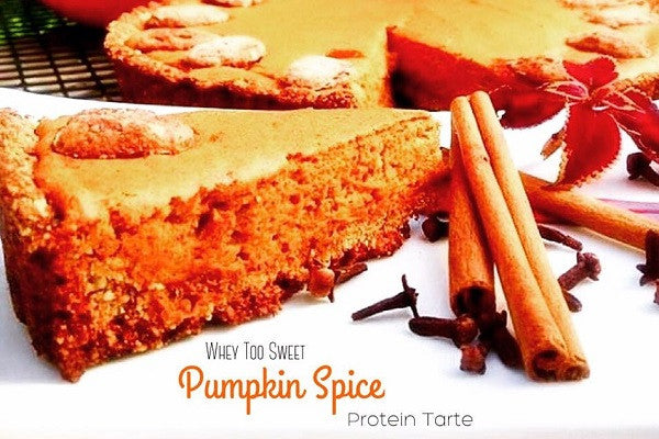 Sweets for Athletes: Protein Pumpkin Spice Tarte Recipe
