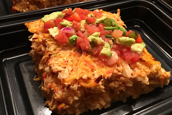 Weekly Meal Prep: Paleo Buffalo Chicken Casserole