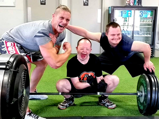 Crossfit Games Athlete Sam Dancer create Row raiser to fundraiser for Special Olympics