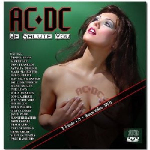 Autographed by Darcy Donavan / AC/DC We Salute You [Bonus DVD]