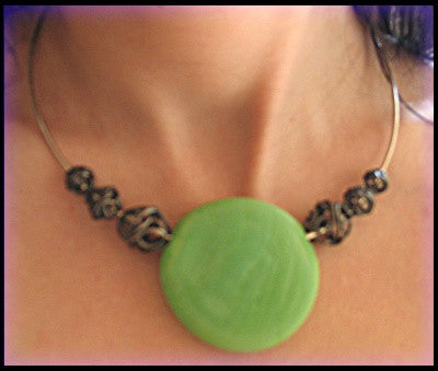 M's Magical Creations- Exclusive Italian Stone Necklace
