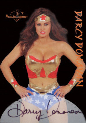 Super Rare Limited Edition Bench Warmer Trading Card 2004 - Wonder Woman