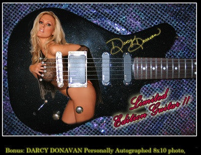 Darcy Donavan One-Of-A-Kind Farnell Guitar