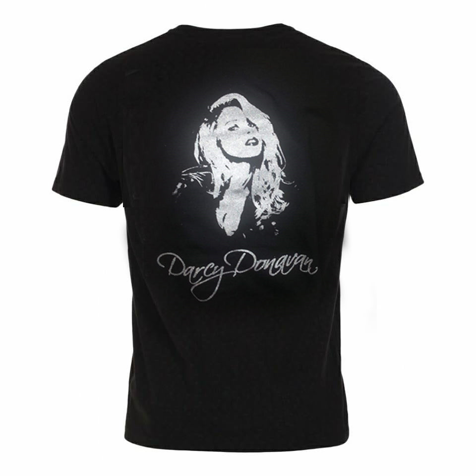 Darcy Donavan Silver and Black T-Shirt