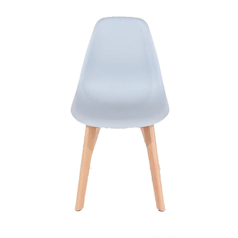 Core Products Aspen Gary Plastic Chair with Wooden Legs